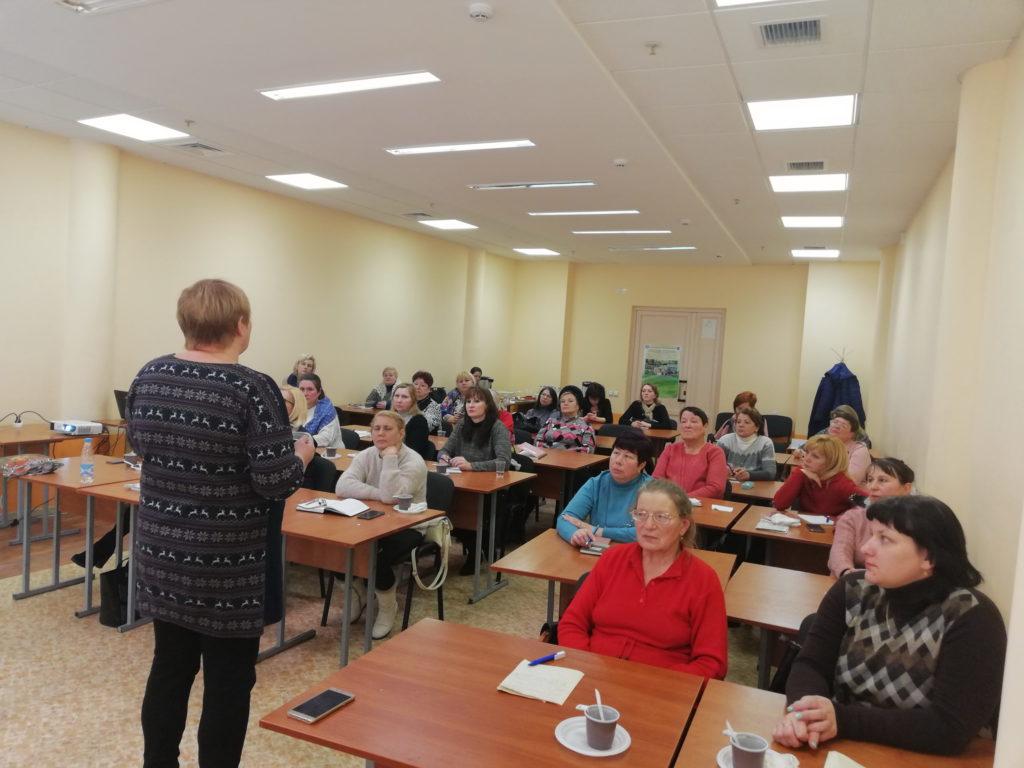 26 декабря 2018 года в г.Оршапрошел семинар-практикум «Предприимчивая землевладелица»